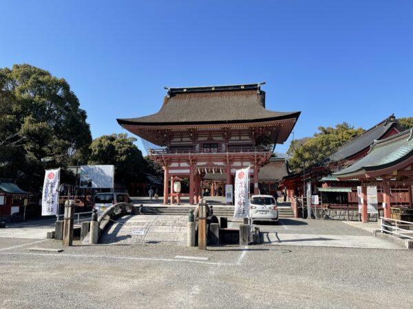 津島神社 正門