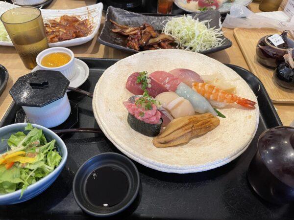 昼から寿司